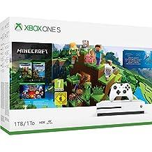 XBOX ONE S Console 1TB Minecraft Story Mode + Explorer