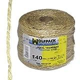 WOLFPACK 16010110 Cuerda Sisal Nº3/4-2c (Bobina 700gr / 140mt)