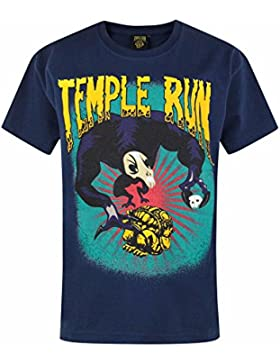 Temple Run -Camiseta de manga corta oficial de Temple Run para niños