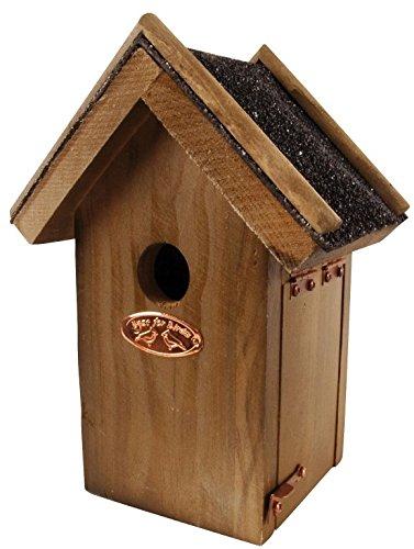 Esschert Design Vogelhaus Zaun, Antik-Waschung