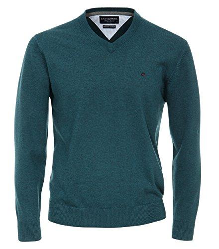 Casa Moda - Herren Pullover mit V-Ausschnitt in verschiedenen Farben (004130) Türkis (170)