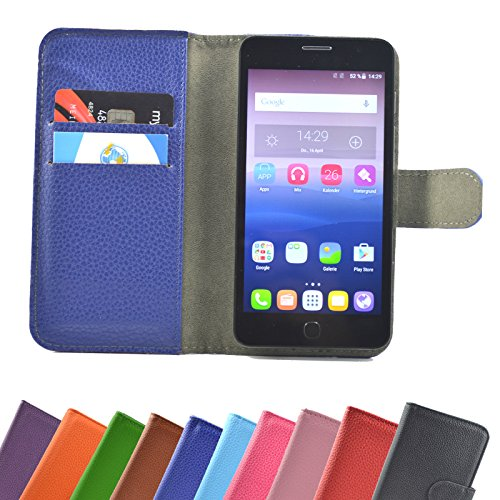 Mobistel Cynus E7 Smartphone / Slide Kleber Hülle Case Cover Schutz Cover Etui Handyhülle Schutzhülle YT in Blau-Hot