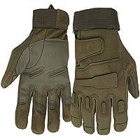 23e072eafafe22 Mimicool Herren Outdoor-Handschuhe Full Finger Military Tactical Handschuhe  Anti-Rutsch Verschleißbeständige Fahrrad-