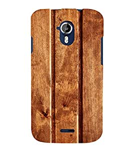 printtech Wooden Design Back Case Cover for Micromax Canvas Magnus A117