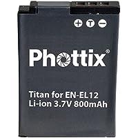 Phottix Batterie équivalente Nikon EN-EL12 (20232)