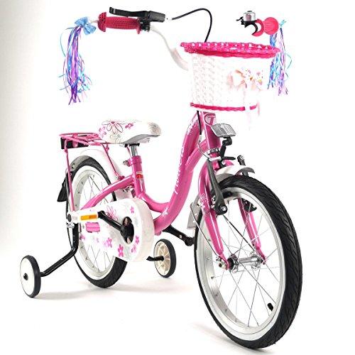 """barabike Kinderfahrrad 16"""" Zoll Kinderrad Rad Bike Fahrrad Spielrad Kinder Kinderfahrräder"""