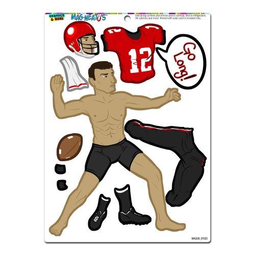 american-football-player-dress-up-mag-neatostm-novelty-gift-locker-refrigerator-locker-vinyl-magnet-