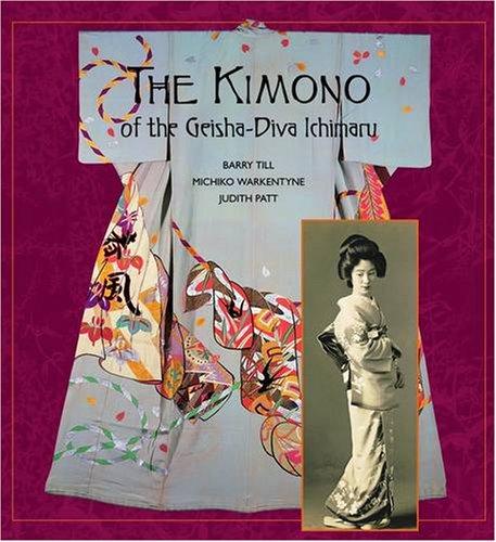 Kimono of the Geisha-diva Ichimaru