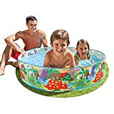 #9: Snap Set Baby Pool Bath Water Tub for Kids - 4ft x 10 inch (1.22m x 25cm)