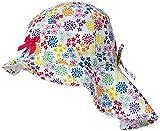 Döll Mädchen Mütze Sonnenhut mit Nackenschutz 1815007744, Rosa (Beetroot Purple 2420), 47