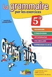 GRAMMAIRE PAR EXERCI 5E 2011