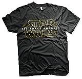 Star Wars Episode 7 T-Shirt Logo The Force Awakens - T-Shirt (XL)
