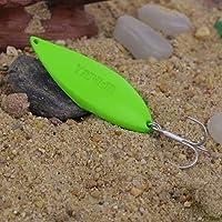 Sungpunet - Señuelos de Pesca de aleación con Gancho de Agudos, 10 g, 15 g, 20 g, 25 g