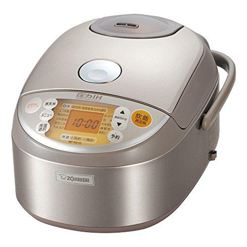 [5.5] If cooked IH pressure rice cooker stainless ZOJIRUSHI NP-NV10-XA (japan import) (Zojirushi Reiskocher)