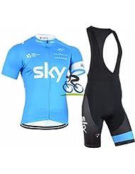 BRG315 Sports De Plein Air Vélo Respirant Sangle Absorbante À Manches Courtes Costume Jersey