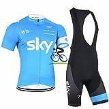 BRG315 Sports De Plein Air Vélo Respirant Sangle Absorbante À Manches Courtes Costume Jersey , M