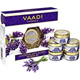 Vaadi Herbals Lavender Anti Ageing Spa Facial Kit with Rosemary Extract, 270g