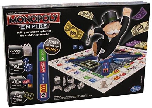 Hasbro Monopoly Empire Gioco da Tavolo [Versione Inglese]
