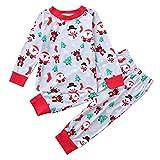f21b556cee76 Topgrowth Pigiama Due Pezzi Neonato T Shirt A Maniche Lunga Pigiama in  Cotone Sleepwear Stampa di