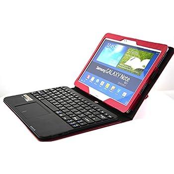 MQ - Galaxy Note 10.1 Bluetooth Tastatur Tasche mit