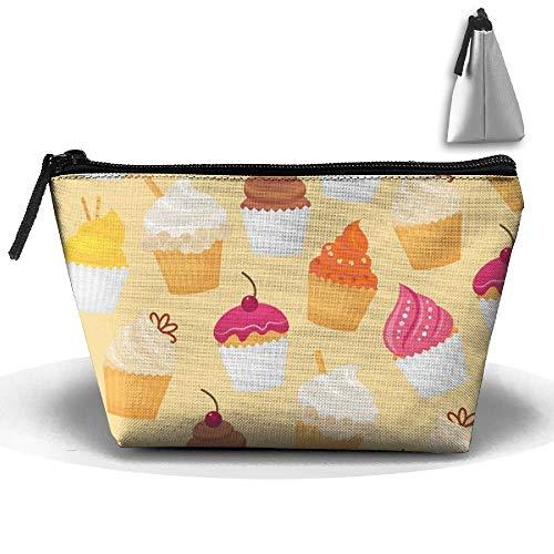 Lebensmittel-Kuchen-Brot-Plätzchen Oxford-Tuch-Wäsche-Verfassungs-Beutel-Damen-Toilettenartikel-Kosmetiktasche (Tuch Bulk-lebensmittel-beutel)