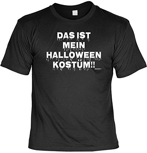 Schocker Kostüm Der - Fun T-Shirt - Das ist mein Halloween Kostüm - Nacht der langen Schatten