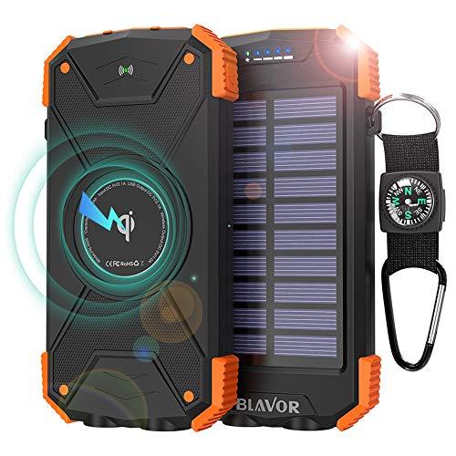 BLAVOR Solar-Powerbank/Solar-Ladegerät