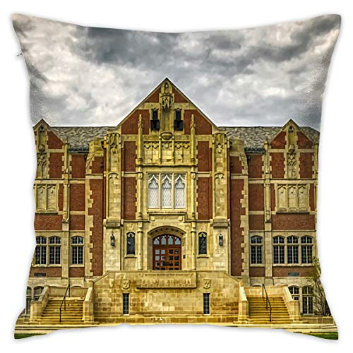 IconSymbol Ball State University Muncie Pillow Cover 18