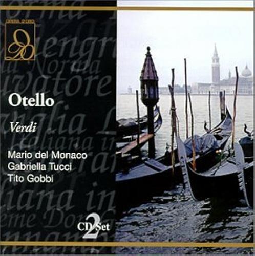 Verdi : Otello. Monaco, Tucci, Gobbi, Erede.