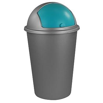 Großartig Abfalleimer 50L Mit Farbauswahl   Kosmetikeimer   Mülleimer    Badezimmereimer   Abfallbehälter (Türkis)