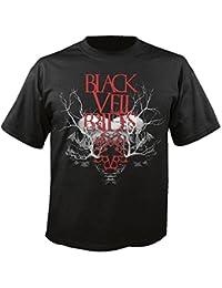 BLACK VEIL BRIDES - Branches Skull - T-Shirt