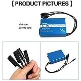 Lanspo Sunnylife Batterie Chargeur à distance avec USB pour DJI MAVIC AIR Euro 6in1 Chargeur USB double pour DJI Mavic AIR (Bleu)