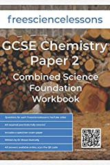 Freesciencelessons GCSE Chemistry Paper 2: Combined Science Foundation Workbook Paperback