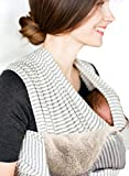 Baby Wrap Sling by Liberty Slings With FREE Lambs Wool Fabric Insert for Chilly Days Bild