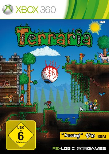 Terraria Xbox 360 Arcade-spiele