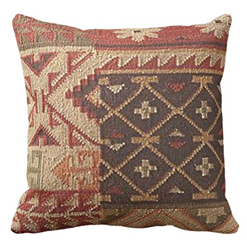 Emvency manta funda almohada Western moda tribal Kilim