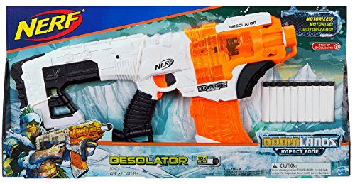 Preisvergleich Produktbild Hasbro B7401 Nerf Doomlands Impact Zone Desolator (Nerf N-Strike Elite kompatibel)