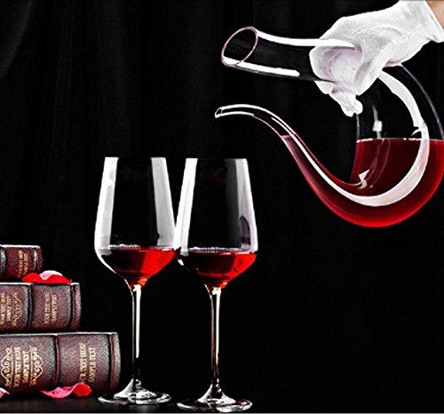 VictoryCN-U-Form-1300ML-Klassische-Overflow-bestndig-Red-Wine-Decanter