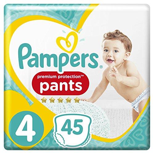 Pampers Premium Protection Pants Größe 4 (9-15 kg), 45 Windeln, 2er Pack