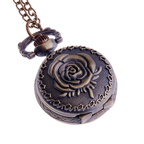 ladies-pendant-pocket-watch-antique-look-quartz-with-chain-small-face-white-dial-arabic-numerals-vin