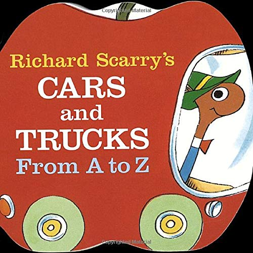 Richard Scarry's Cars and Trucks from A to Z (A Chunky Book) por Richard Scarry