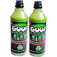 GOOP - Sellador de neumáticos (2 botellas de 500 ml)