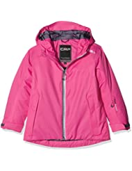 CMP - Chaqueta de esquí para niña, otoño/invierno, niña, color Hot Pink, tamaño 8 años (128 cm)