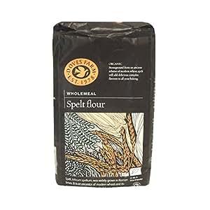 Doves Farm - Organic Wholemeal Spelt Flour - 1Kg (Case of 5)