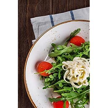 Carnet de Notes: Petit journal personnel de 121 pages lignées avec couverture « Salade - Roquette »