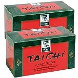 BADERs Tai Chi Energie Tee aus der Apotheke. Bio-Grüntee für mehr Energie und Vitalität. Mit der Kraft der Ginsengwurzel. 2 x 20 Filterbeutel. PZN 03250803