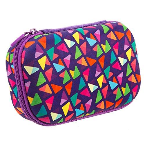 Zipit colorz box astuccio per matite, portapenne, contenitore, viola