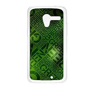 a AND b Designer Printed Mobile Back Cover / Back Case For Motorola Moto X (Moto_X_2820)