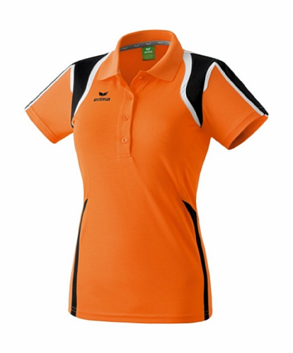 Erima Razor Polo pour Femme Orange - Orange/noir/blanc
