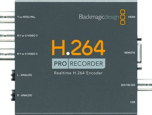 Blackmagic Design vidprorec (Video-ipod H264)